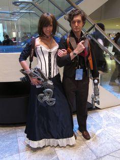 Elizabeth and Booker (Bioshock) | DragonCon 2013