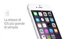 Disponibile iOS 8 per tutti gli utenti