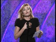 Emma Thompson's awards speech at the 1996 Golden Globes. Best. Speech. Ever. I do believe Jane Austen would approve!