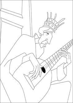 Dibujos para Colorear El valiente Despereaux 9