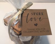 S'mores Favor Kits 24 SMORE LOVE S'mores Wedding by DoMeAFavorBox