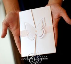 Make your own wedding invitations using your Silhouette Cameo or Portrait