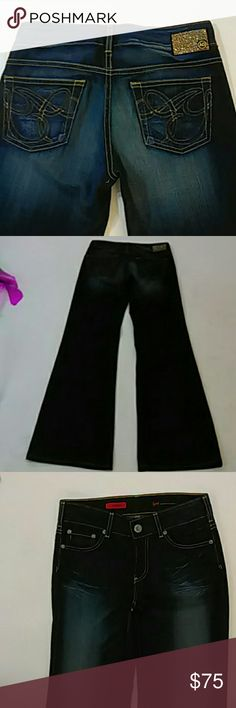 AG Adriano Goldschmied jeans size 26 Brand new without the tags this is the Mona style. They are boot leg or flare leg they are in excellent condition because they are brand new never worn beautiful condition these jeans cost $225 AG Adriano Goldschmied Jeans Flare & Wide Leg