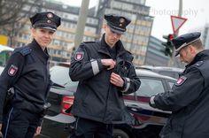 A Smile to break the silence, Polizei, Hamburg, Germany