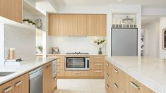 Kitchen as displayed at Meridian Estate, Clyde North Carlisle Homes, Mid Century Modern Kitchen, Modern Kitchen Design, Decoration, Master Suite, Mid-century Modern, Kitchen Cabinets, House Design, Home Decor