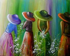 Arte - as cores dançam nos olhos.
