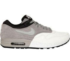 Nike Air Max 1 Premium – White / Grey – Black (Fall 2013)