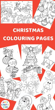 Children's Christmas Colouring Pages Arty Crafty Kids Preschool Christmas Activities, Christmas Crafts For Kids To Make, Diy Gifts For Kids, Kids Christmas, Childrens Christmas Crafts, Simple Christmas, Coloring Pages To Print, Free Printable Coloring Pages, Coloring Pages For Kids