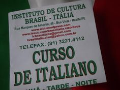 Taís Paranhos: Atividades do Instituto Cultural Brasil-Itália