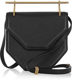 M2Malletier - Amor Fati Leather Shoulder Bag - Black - #ad https://api.shopstyle.com/action/apiVisitRetailer?id=444496038&pid=uid2729-23324277-58