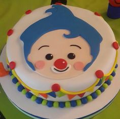 Pin by blakeleegalinabernelleqy on food-and-drinks in 2020 Circus Birthday, Baby Birthday, Birthday Cake, Birthday Party Decorations, Birthday Parties, Disney Cakes, Baby Party, Fondant Cakes, Bakery