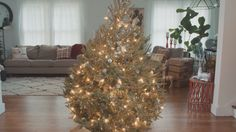 The Art of Lighting a Christmas Tree