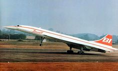 The airline Braniff introduced a service in January 1979 between Texas, Washington D.C. & Europe on interchange flights with BA and Air France. Concorde was never painted in Braniff livery though – just an artists impression for the press.