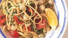 Linguine with Bay Scallops, Fennel, and Tomatoes and wine suggestions. At the bottom of the page are several other scallop, and linguine, recipes that are interesting to me. Seafood Recipes, Pasta Recipes, Appetizer Recipes, Cooking Recipes, Healthy Recipes, Clam Recipes, Linguine Recipes, Recipes Dinner, Fish Recipes