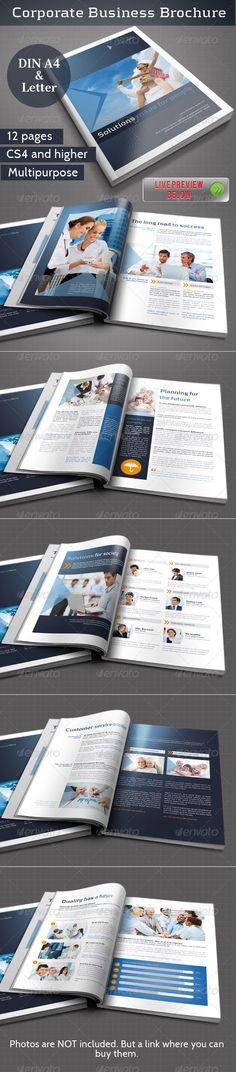 Corporate Business #brochure