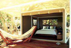 Wilson Island hotel in the Great Barrier Reef, Australia