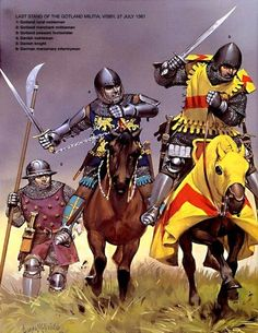 Danish nobleman and knight with German mercenary Medieval World, Medieval Knight, Medieval Armor, Medieval Times, Medieval Fantasy, Early Middle Ages, Knight Armor, Knights Templar, Dark Ages