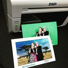 Our friends over at Photos In A Minute showing off their first #Greenscreen prints from their new #DS620A printer! #ScottProposki #PhotosInAMinute #Photography #PrintOnSite