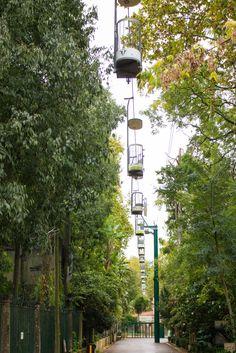 teleférico no Zoo de Lisboa
