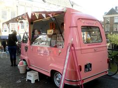 ice cream van, netherlands