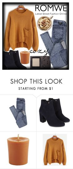 """""""◇CHILLIN' KILLIN'◇"""" by tamsy13 ❤ liked on Polyvore featuring Dr. Denim, Monsoon, Pier 1 Imports, romwe and fallsweaters"""