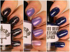 LynBDesigns Doctor Who nail polish | Be Happy And Buy Polish