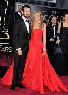 Couples On The Red Carpet 2013 - Justin Theroux & Jennifer Aniston