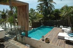 Be Tulum, winner of the Fodor's 100 Hotel Awards for the Casual Chic category #travel