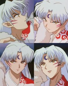 when anime takes over you Inuyasha Fan Art, Inuyasha And Sesshomaru, Inuyasha Love, Old Anime, Anime Guys, Manga Anime, Anime Art, Seshomaru Y Rin, Japanese Show