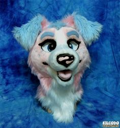 By Kildoco Costumes (If I ever got a fursuit, mine would be making this face lol)