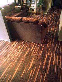 Trafficmaster African Wood Dark 6 In X 36 In Luxury