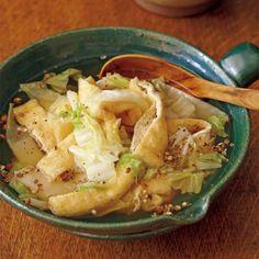 白菜とお揚げのさっと煮栗原はるみ氏のカフェ「ゆとりの空間」