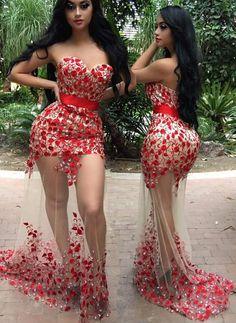 Lace Appliques  Prom Dress,Mermaid Prom Dress,Prom Dress Backless,Floor Length…
