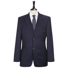 PAUL COSTELLOE  Luxury Blue Three Piece Suit