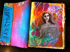 My Blooming Life: art journal