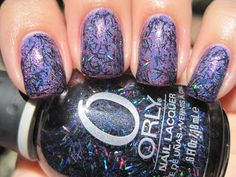 Layering Order:  2 coats Jade Fascinio Violeta  1 coat Orly Sunglasses At Night