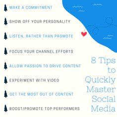 8 Social Media Tips for Businesses and Entrepreneurs