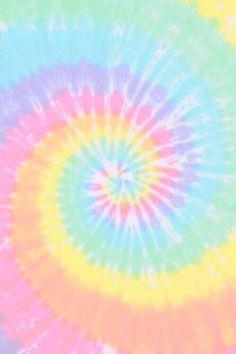 Tie dye print wallpaper.