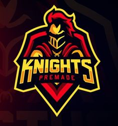 knights Fantasy Logo, Warrior Logo, Game Logo Design, Esports Logo, Lacrosse, Shirt Print Design, School Logo, Helmet Design, Typography Logo
