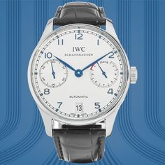 From a brand synonymous with precision watchmaking comes this Certified Pre-Owned IWC Portuguese 7-Day Automatic.