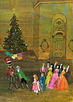 Illustration for The Nutcracker | Tales from the Ballet by Louis Untermeyer, Illustrated by Alice and Martin Provensen