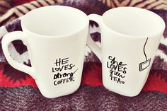 """5 Awesome DIY Christmas gifts under $15 . I think I'll make this for Scott and I but replace """"green"""" with """"chai"""""""