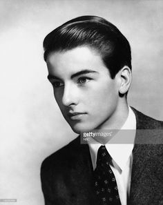 PRESENTS -- 'Ah, Wilderness' -- Air Date -- Pictured: Actor>Montgomery Clift as Richard Miller