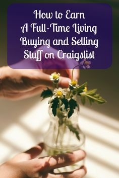 How Ryan Finlay earns a full-time living (and supports a family of 7) buying and selling items on Craigslist. He shares his sourcing, negotiation, and sales tips, along with the product categories he thinks have  the best potential for profits.