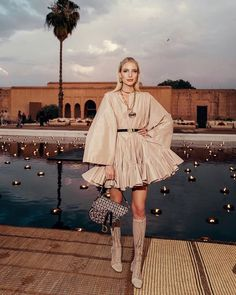 Dior Cruise 2020 Collection Presented at the El Badi Palace in Marrakesh. – Ellen Kefel Dior Cruise 2020 Collection Presented at the El Badi Palace in Marrakesh. Dior Cruise 2020 Collection Presented at the El Badi Palace in Marrakesh. Daily Fashion, Fashion 2020, Fashion Week, Runway Fashion, Fashion Show, Womens Fashion, Fashion Trends, Fashion Tips, Haute Couture Style