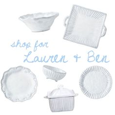 Lauren Roman & Ben Goble - Shop their entire registry @ http://charlestonstreet.com/registry.asp?action=view&id=2017