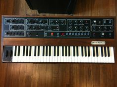 Sequential Circuits Prophet-5 Vintage Synthesizer.  I always dreamed of owning one!