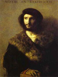 Portrait of a Man - Тициан