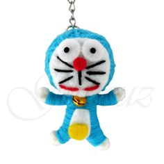 Cute-Blue-Doraemon-String-Voodoo-Doll-Keychain-Handmade.jpg (500×500)