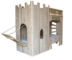 Thorsten een boomhutbed, Sirius een kasteelbed?